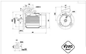 nakres 112 M B5 elektromotor