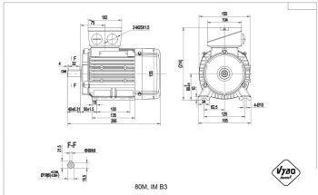 nakres 80 M B3 elektromotor