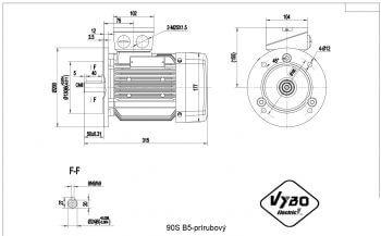 nakres 90S B5 elektromotor