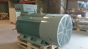 asynchronní elektromotor s VFD