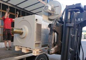 DC motor 620kW