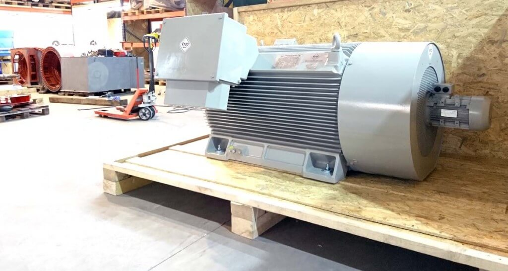 Electric motor 710kW
