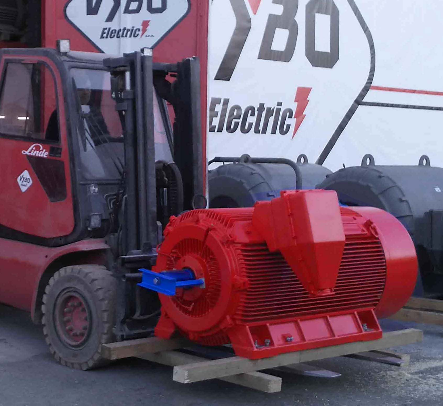 elektromotor 630kw