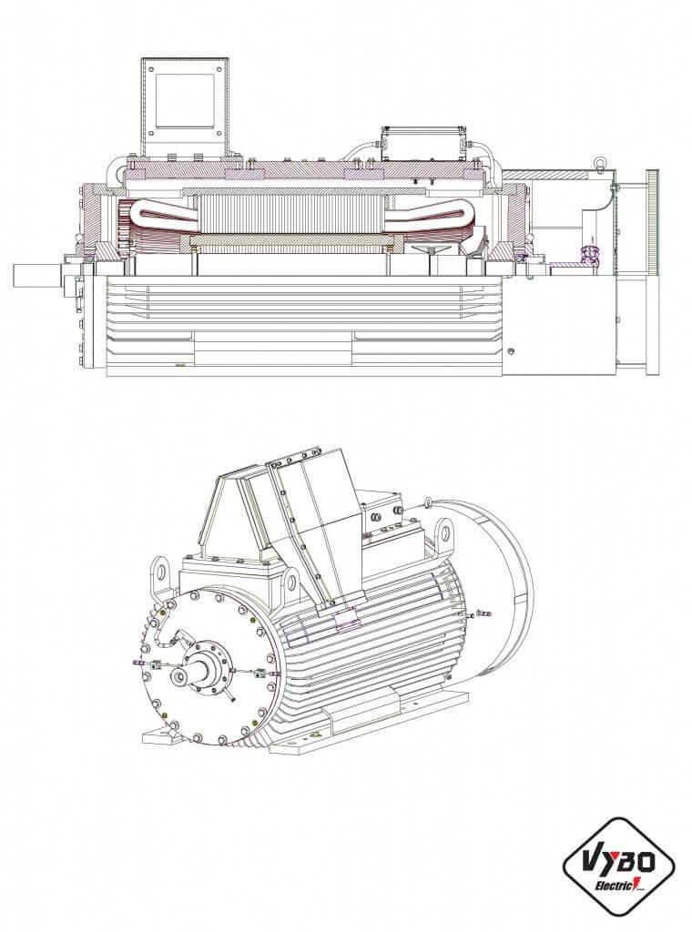 VN elektromotor Exde IICT4