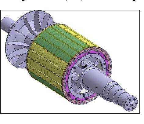 elektromotor rotor 132kw