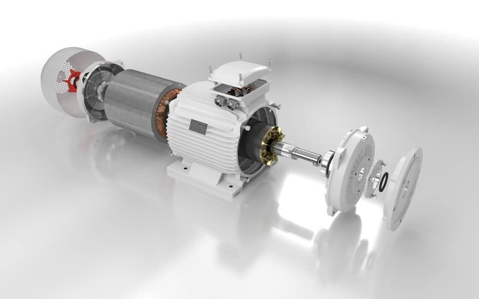 Elektromotor rozobratý 110kw