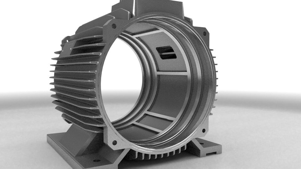 Elektromotor stator 200kw