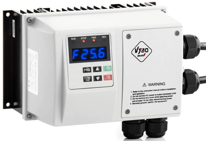 frekvenční měnič 0,75kw X550 IP65