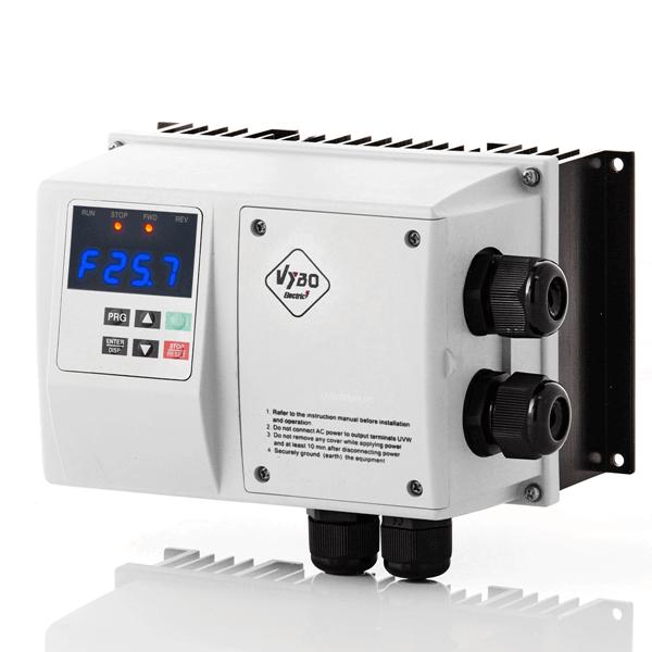 frekvenční měnič 2,2kw X550 IP65
