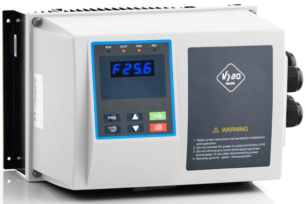 frekvenční měnič 5,5kw X550 IP65