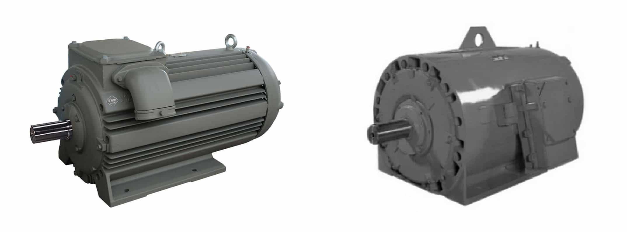 krúžkový motor a motor s kotvou nakrátko