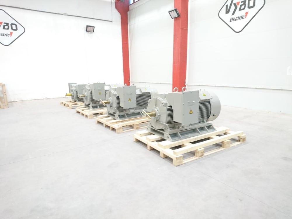 strednonapetove motory 6000V