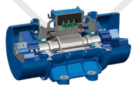 vibrační elektromotor 10kw BM9000/3ační elektromotor 0,08kw BM30-15