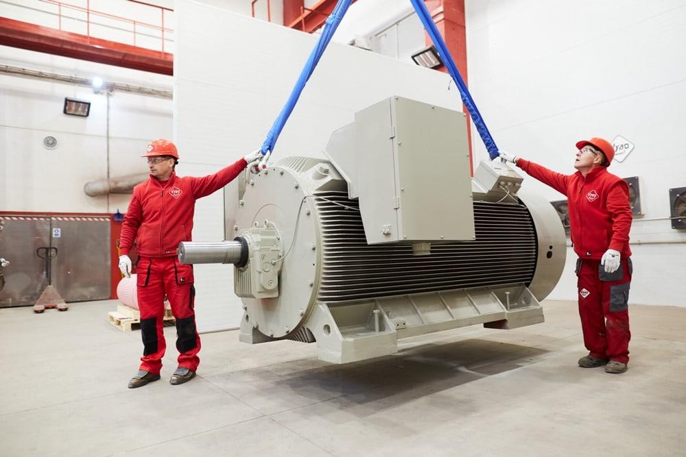 vysokonapěťové motory 6000V
