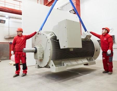 vysokonapetovy elektromotor 6000V